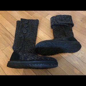 Size 6 Classic Cardi Ugg Boots